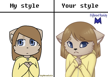 My style vs Your style 12/21/17 by xxDifferentRealityxx