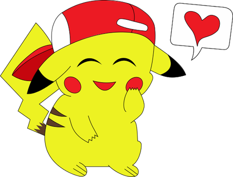 Pikachu Vector Trace by ThistleEverfreen