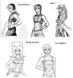 JoJo - Part 6 Gender Bender by FerioWind