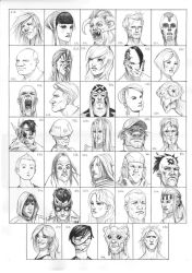 Heads 817-850 by one-thousand-heads