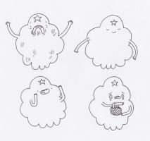 The Faces of Lumpy Space Princess by sophiemai