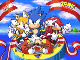 Sonic Mania by Metal-M