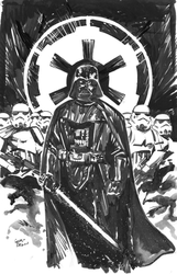 NYCC pre con commission: Vader by thisismyboomstick