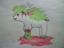 Skye the shaymin by Skyroar10000