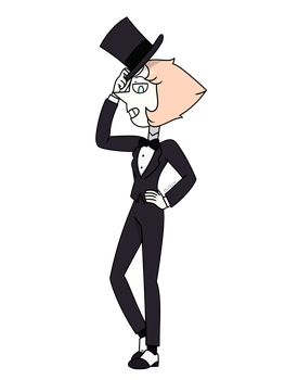 Another Pearl Tux Drawing by MrChaseComix