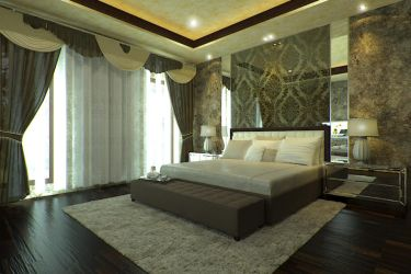 MasterBedroom Maximalist by mndh