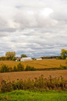 Fall in the country by waudrey