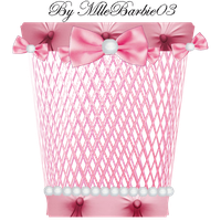 Pink Trash Icon by mllebarbie03
