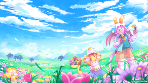 March 2018 Patreon Wallpaper by raizy