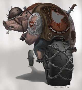 Big-Pig-Guy by Davesrightmind