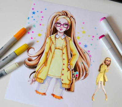 Honey Lemon by Lighane