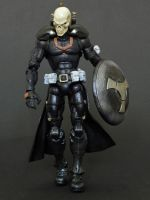 Marvel Legends Taskmaster redesign custom by LuXuSik
