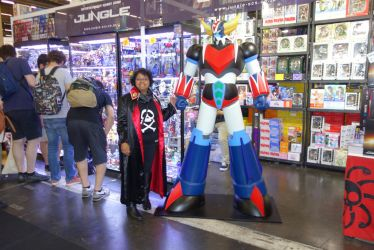 Grendizer and me by captaincara