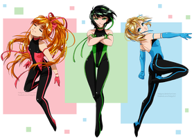 Powerpuff Girls by Maiyuna
