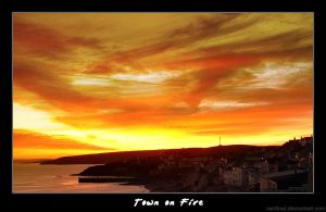 Town on Fire by cardinal