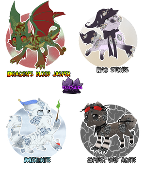Spooky Crysallid Adopts.1 - CLOSED by ShoQute