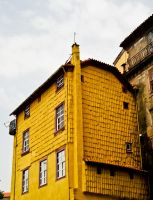 Yellow house by Sonia-Rebelo