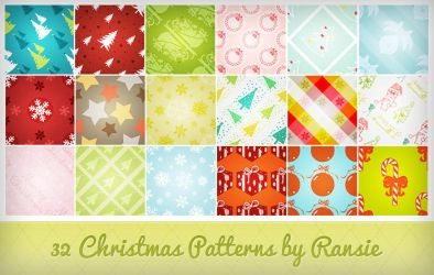 Christmas Patterns by Ransie3