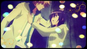 Misaki and Usui by SparkOfShadows