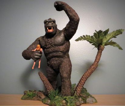 Laudati Kong Diorama Finished by Legrandzilla