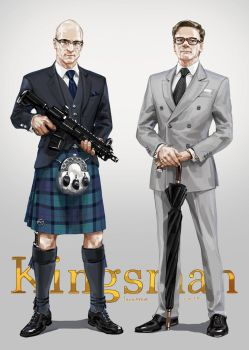 Kilt and Suit by JaneMere