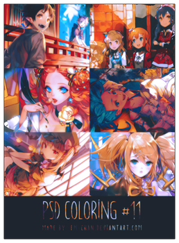 PSD COLORING #11 by BCaves