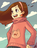 + Speed Painting: Mabel Pines + by KyseL
