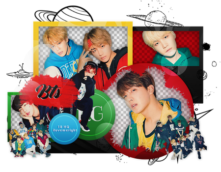 +BTS|PACK PNG by KoreanGallery