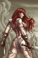 Red Sonja 46 by Maiolo