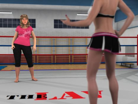 Anne Carter vs Kelly Montana 7 SA 01 by PhoenixCreed
