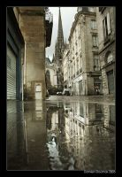 Rainy day in Bordeaux II by kil1k