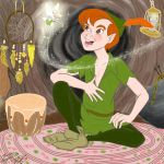 Disney's #14 spirit of youth or Peter Pan by E-Ocasio