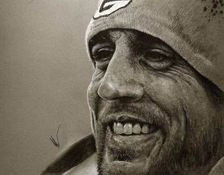 Aaron Rodgers by Flashback33