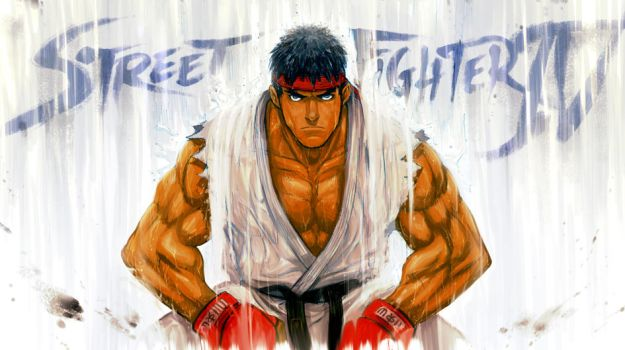 street fighter 4 contest entry by Gingashi