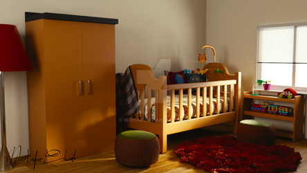 3D - Babies Room by M-Ehab