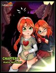 Hailey and Kinsey Official - Chapter 1 Cover by darkfang100