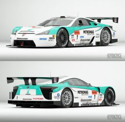2011 SuperGT LFA WIP3 TOM'S by The-IC