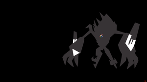 Necrozma Minimalist Wallpaper by Morshute