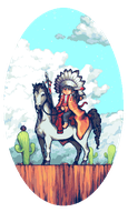 NativeAmericanBoy by StavaEY