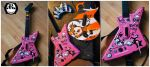 GH Faceplate : Rock Kitty by ricepuppet