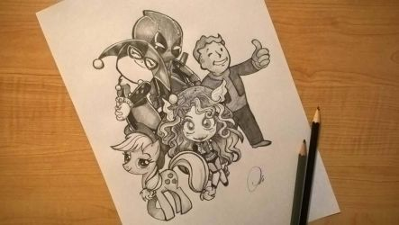 Family Photo by ZeroFoxFaceless