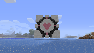 Companion Cube 2 - Minecraft by LucidFusion