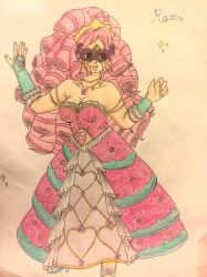 Rose Quartz The Truth in the Masquerade Dance by EMMYtheK