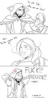 Cute lady-Anduin by blueberry-jam1