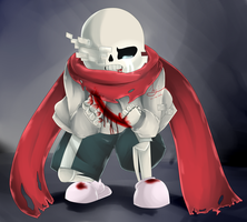 After Sans by 3ghoul