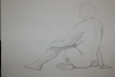 Figure study 1 by Evinfowler