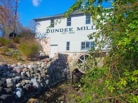 Dundee Mill by Barrettart