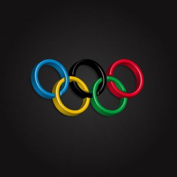Olympic Logo 3D by MAUXWEBMASTER