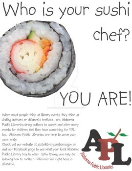 Sushi Chef by Grains-Redsand