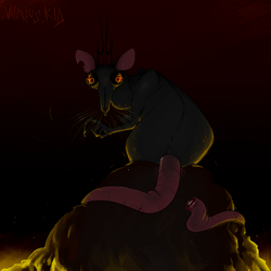 rat king by ValorousKid